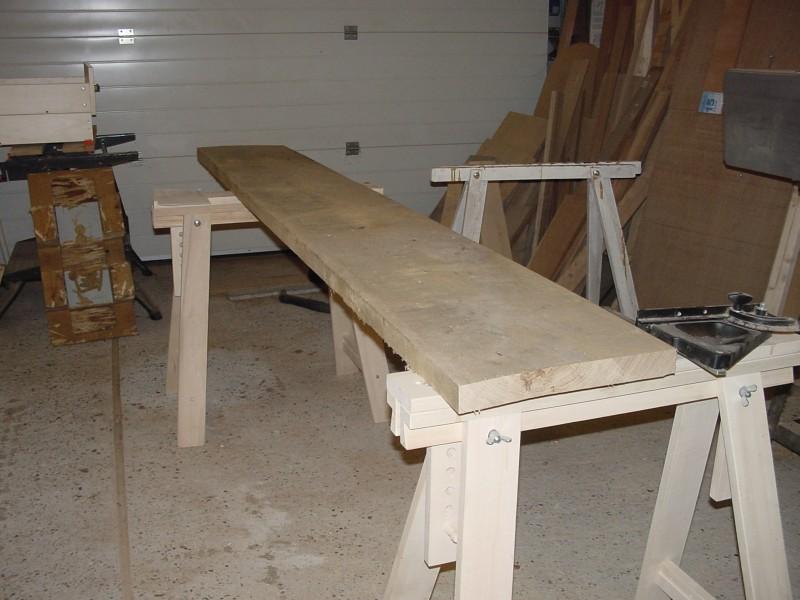 gedroogd eiken meubelhout